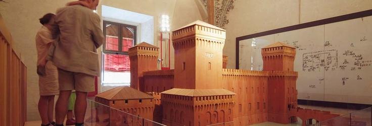 Il Castello in miniatura #InvasioniDigitali il 24 aprile alle ore 10:30 Invasore: TurismoFerrara