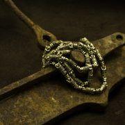 Цепь «Да воскреснет Бог…», золото.| Кустодия-творческая мастерская. Ювелирные украшения ручной работы./ Цепи и браслеты золотые и серебряные/