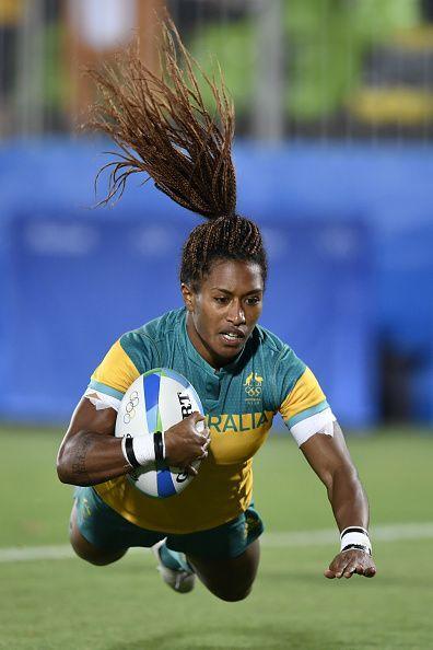 Australia's Ellia Green. #thepursuitofprogression #lufelive #rugby #la #ny #sevens