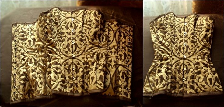 Steampunk corset :)