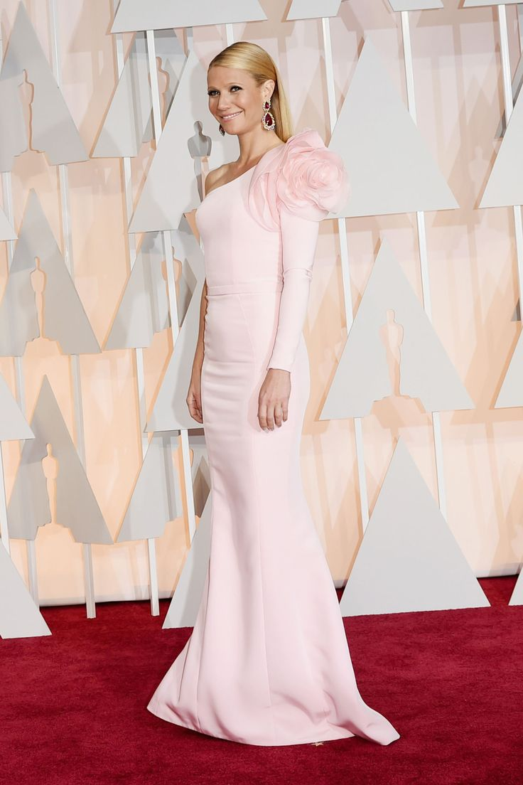 Gwyneth Paltrow at the 2015 Oscars. See all the best red carpet arrivals here: