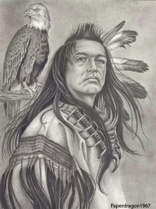 Pencil Drawings Pencil Drawings Native American Indians
