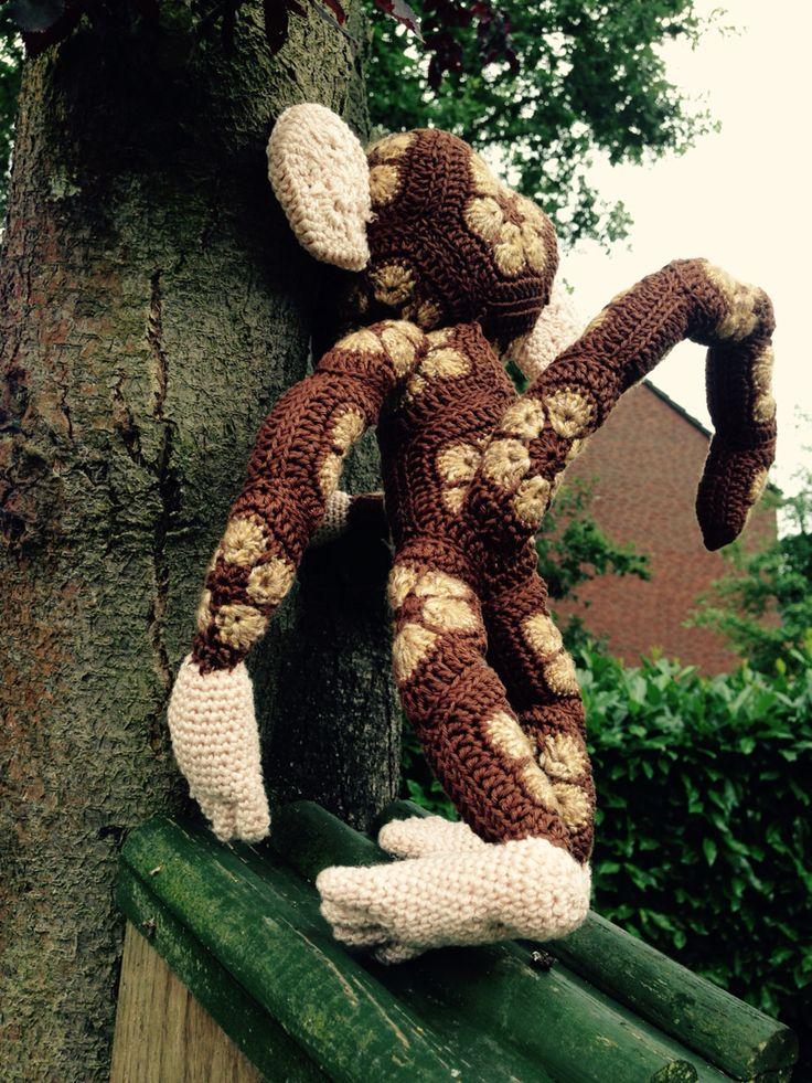 African flower monkey