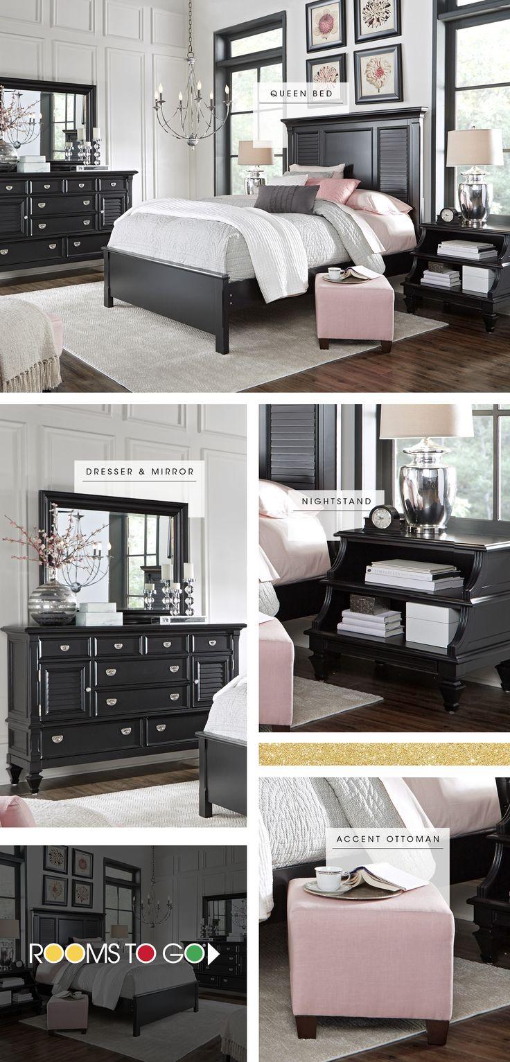 Great Belmar Black 5 Pc Queen Bedroom