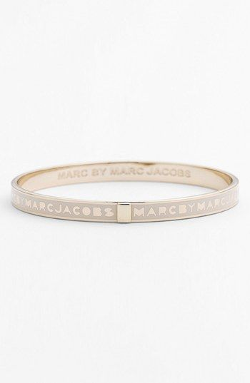 MARC BY MARC JACOBS 'Classic Marc' Logo Bangle available at #Nordstrom