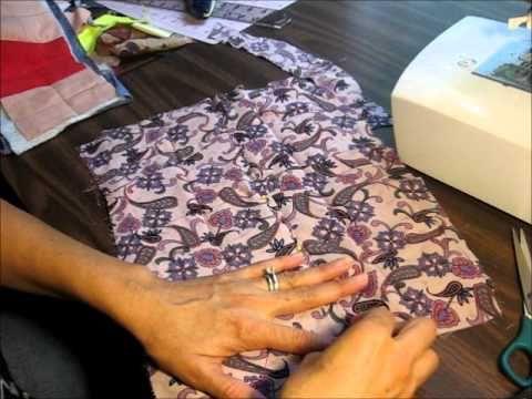 tutorial como enguatar y ensamblar un quilt o colcha con el metodo facil...
