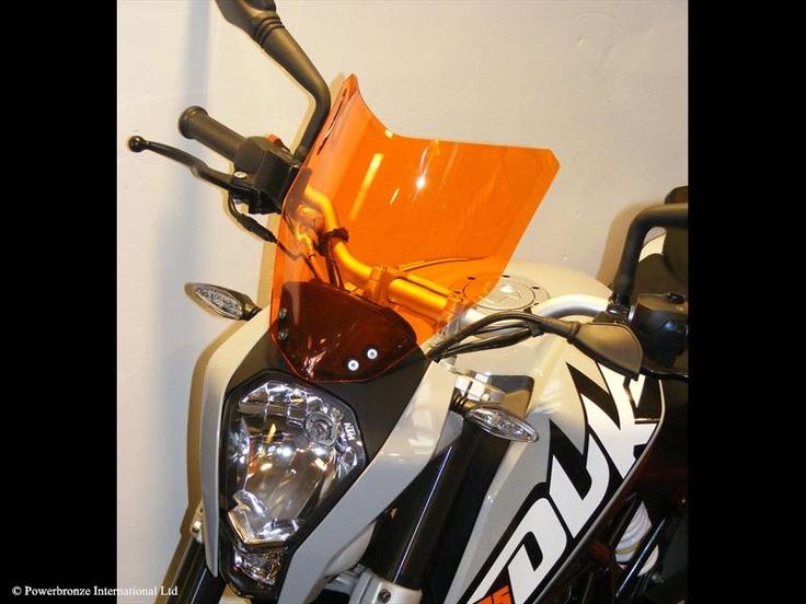 AIRFLOW SCREENS - KTM DUKE 125 13/DUKE 200 13/DUKE 390 13 - Powerbronze UK International