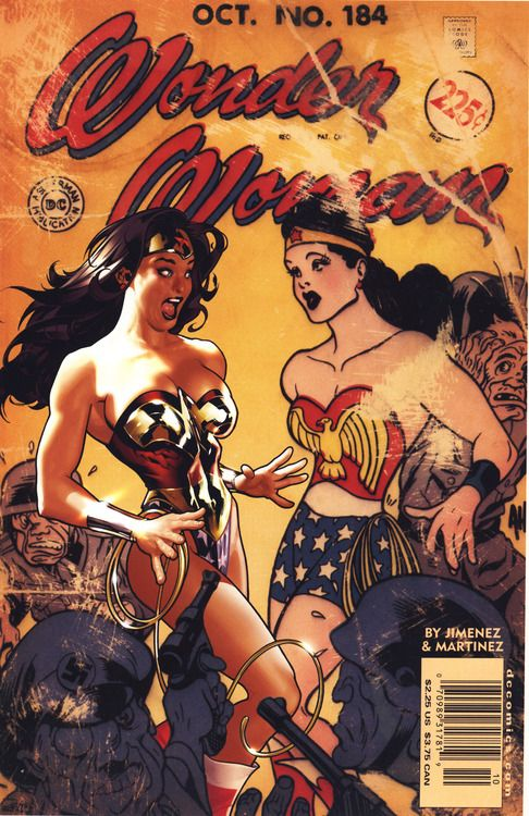 Wonder Woman Cover For DC Comics 184