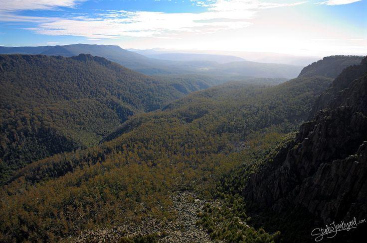 Studio Junkyard - Devil's Gullet and Lake Mackenzie #tasmania #thinktasmania #discovertasmania #australia Tasmanian Geographic