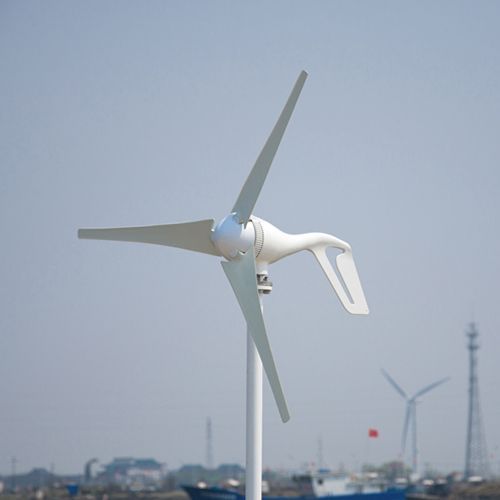 March sales promotion 400w horizontal axis wind turbine 3