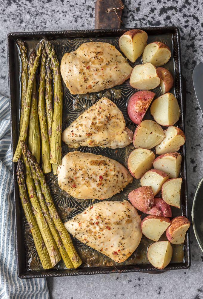 dash diet honey garlic chicken and veggies