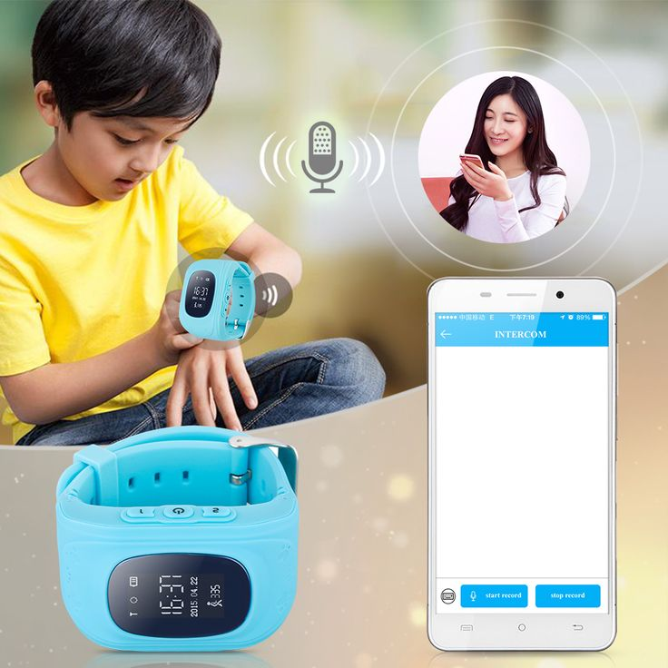 Q50 Smart watch GPS traker for kids smart watch phone Sim GSM GPS Locator Tracker Anti-Lost Children safetly For iOS Android