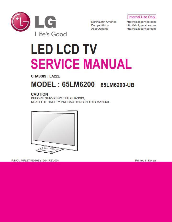 Lg 65lm6200 3d Smart Led Tv Service Manual And Repair Guide Tv Services Led Tv Repair Guide