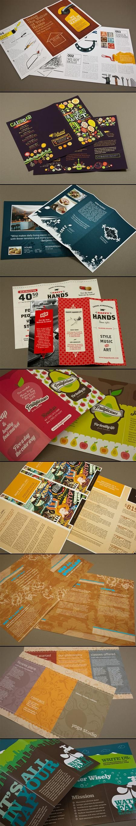 30+ Well-designed Tri-fold Brochures