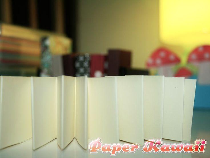 mini origami book tutorial at paper kawaii