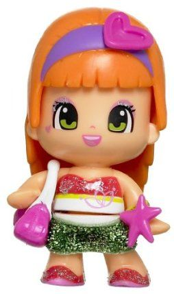 Famosa Pinypon Pin Y Pon Doll - Orange Hair with Heart by Famosa. $5.95. WARNING- Choking Hazard. Not for Childern under 3 years. Please remove and discard all ties before giving the toy to the child.
