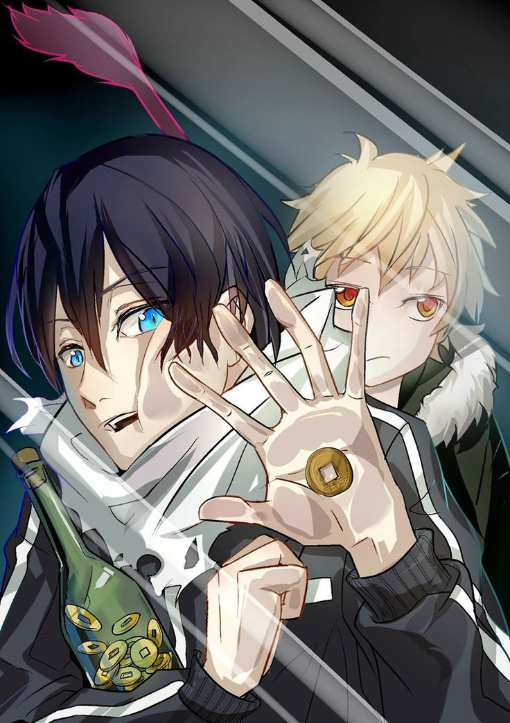 Noragami Yato & Yukine | Anime lock screens~ | Pinterest ...