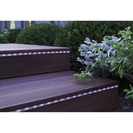 Kit ruban LED extérieur, LED intégrée, multicolore, LUMIHOME