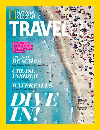#MagLoveTop10: Best travel magazine covers of 2016 — #4. National Geographic Traveler (US), February/March 2016.