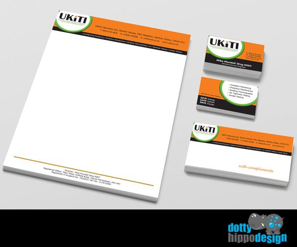 Business stationery pack for UKiTi