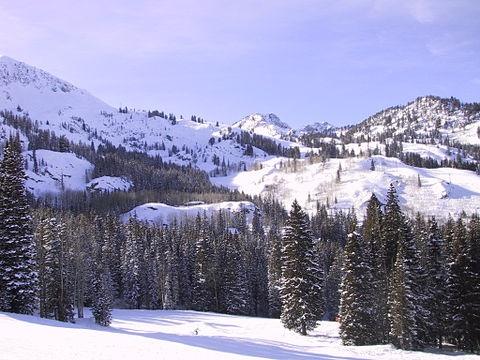 Brighton Ski Resort, Salt Lake City, Utah, USA
