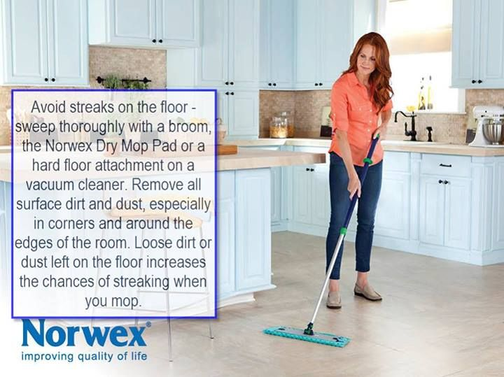how to clean norwex mop pads