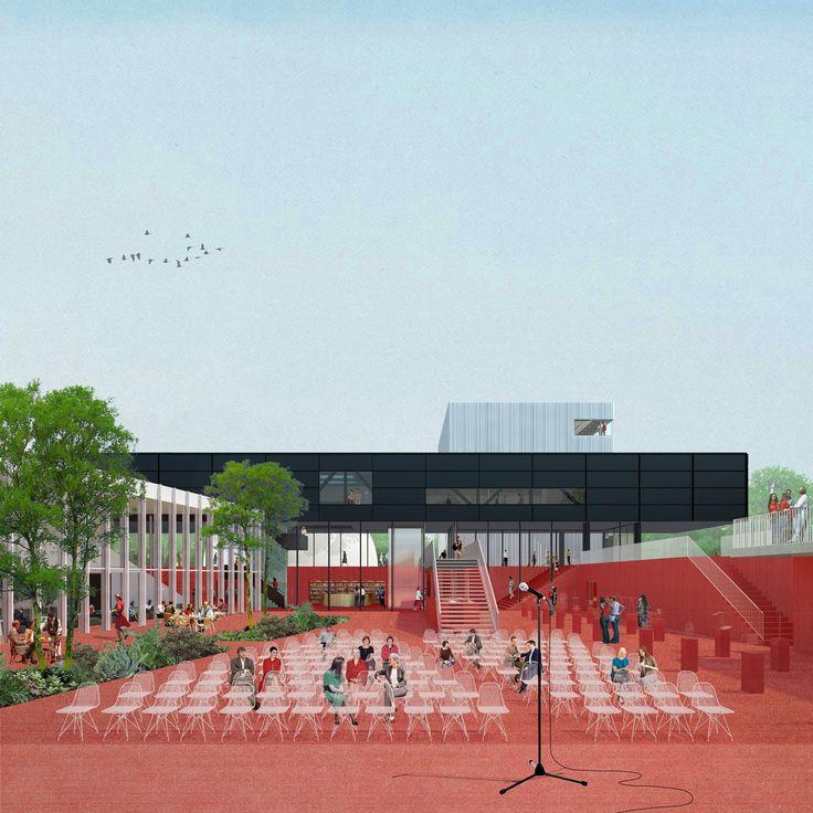 Shift Architecture Urbanism's C-City Museum District