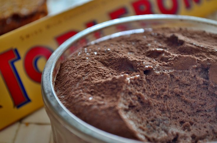 Toblerone chocolademousse
