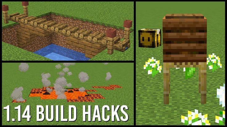 1 14 Minecraft Build Hacks 1 14 Build Entwurfebauen Gebaude