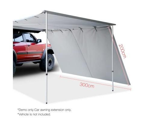2 x 3M  Car Side roof Awning Extension  *FREE POSTAGE IN AUS