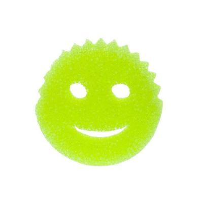 Scrub Daddy: Scratch free pot scrubber. Soft in warm water. Firm in cool water. Thanks @esilbermann ! #Cleaning_Sponge #Scrub_Daddy