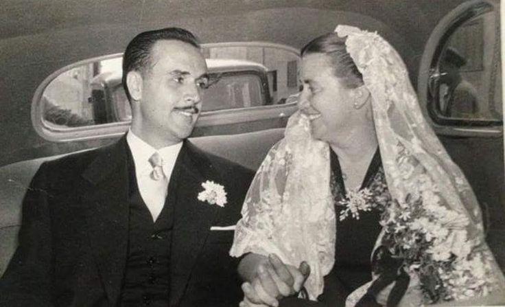Celia Viñas y Arturo Medina