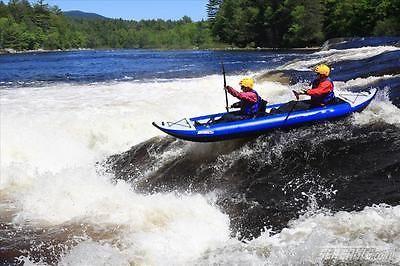 Sea Eagle 14' explorer 420XK pro kayak 2 seater great white water an surf sports