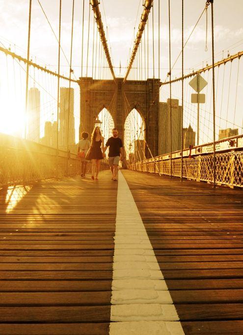 夏のニューヨーク、ブルックリン・ブリッジを渡ってみよう : ニューヨークの遊び方