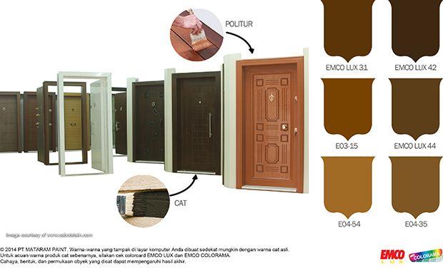 Warna-Warna Kayu: Alami dan Hangat! #Inspirasi #Warna http://matarampaint.com/detailNews.php?n=237