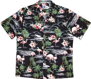 Flamingos Hawaiian Shirt for Men