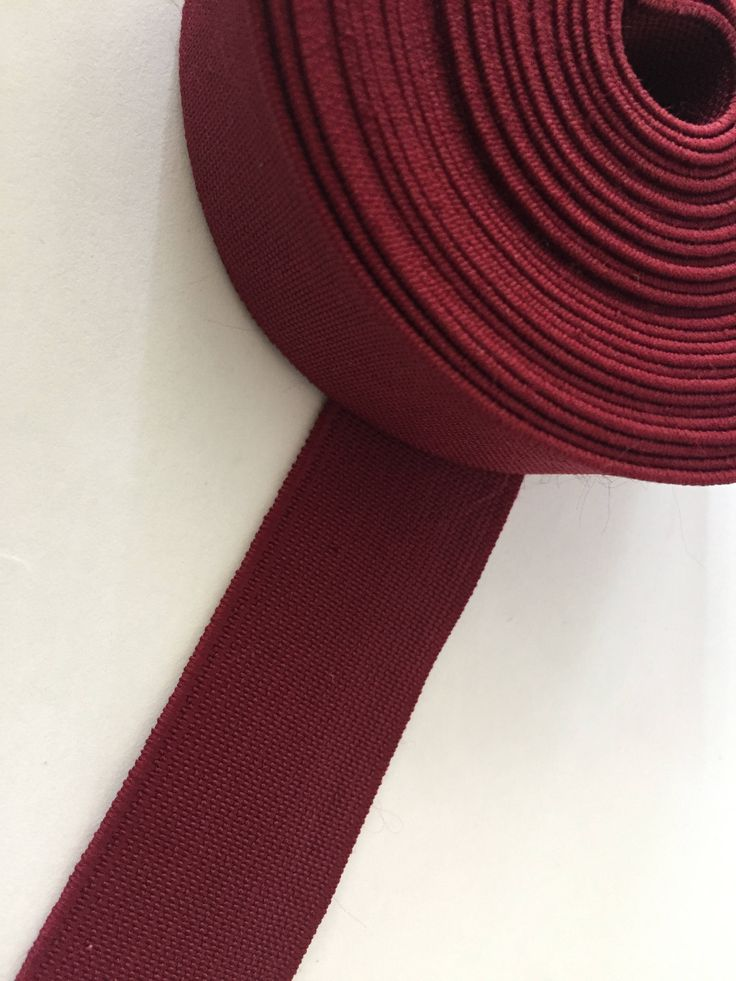 "25 yards 1.2"" wide colored elastic, soft elastic, wholesale elastic by NoaElastics on Etsy"