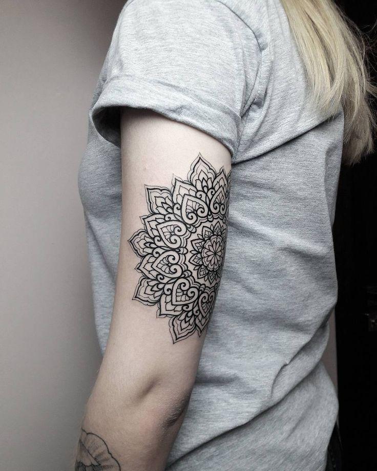 Geometric Tattoos Mandala Tattoo: 25+ Unique Geometric Mandala Tattoo Ideas On Pinterest