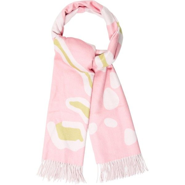 Pre-owned Christian Dior Cashmere Fringe Scarf (£135) ❤ liked on Polyvore featuring accessories, scarves, pink, pink cashmere shawl, cashmere scarves, colorful scarves, pink shawl and colorful shawl