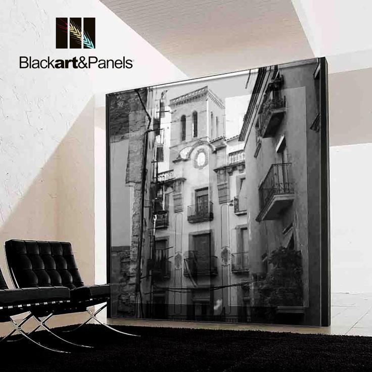 Cuadro mural sobre madera o marco en aluminio desarmable - Mecanismo reloj pared ikea ...