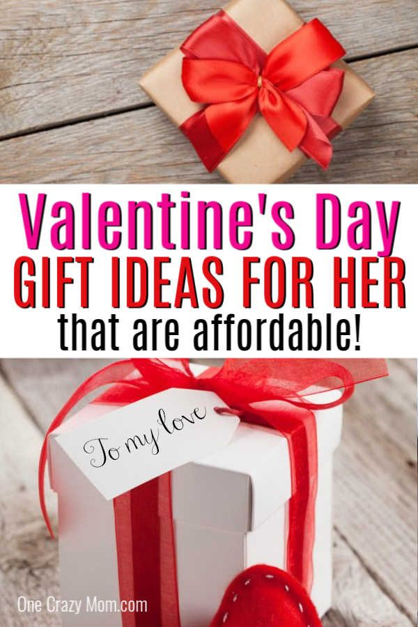 Over 25 Valentine S Day Gifts For Her On A Budget The Best Gift Ideas Valentine Gifts For Girlfriend Cheap Valentines Day Gifts Valentines Day Gifts For Her