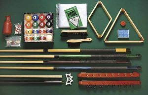 Get everything you need with Playcraft's Billiard Accessory Kit!  All of this for just $199.00!