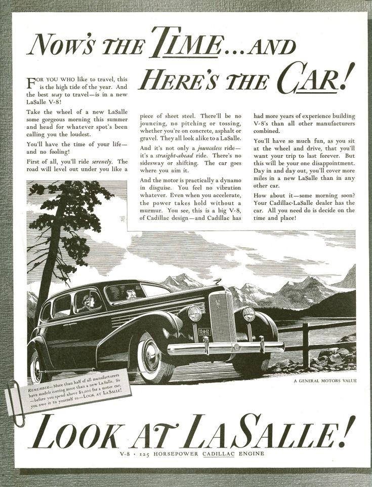 19 best 1938 Cadillac Ads images on Pinterest   Cars, Vintage ads ...
