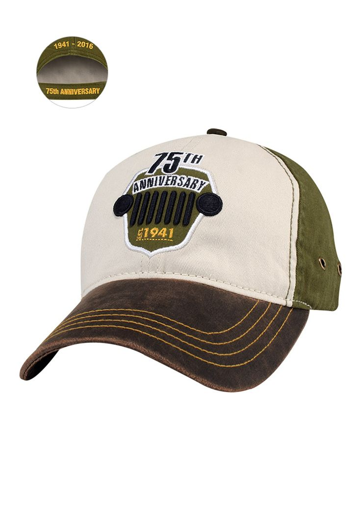 Jeep Gear: Product'Jeep® 75th Anniversary Two-Tone Cap'
