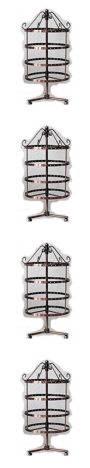 Earring 168161: **Pick-Up - Acworth Ga New - 4 - Earring Display Stands - Rotate - 144 Holes Ea. -> BUY IT NOW ONLY: $34.99 on eBay!