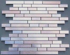 Metalli Misti Marrone Mixed Brick Mosaic
