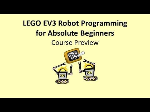 Educational Robots for Absolute Beginners – EV3 Edition - Course