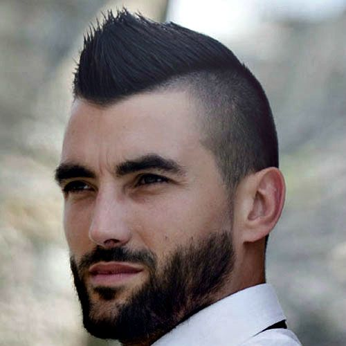 Mohawk Fade Haircuts Mohawk Hairstyles Men Haircuts For
