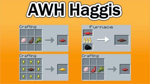Haggis Mod for Minecraft 1.8/1.7.10