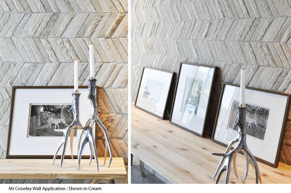 Cowhide Leather Wallcoverings : Kyle Bunting